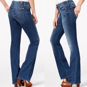 7 for All Mankind | Trouser Style Boot Cut Jeans